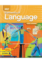 Elements of Language  Grammar, Usage, and Mechanics: Languages Skills Practice First Course-9780030563515