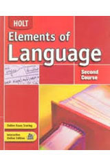 Elements of Language  Language and Sentence Skills Practice Second Course-9780030652998