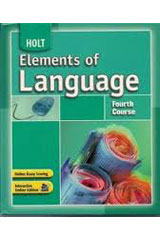 Elements of Language  Language and Sentence Skills Practice Fourth Course-9780030653025