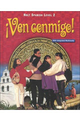 ¡Ven conmigo!  ¡Lee conmigo! Intermediate Reader Level 2-9780030656163