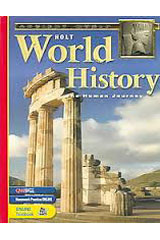 Holt World History: Human Journey  Geography Activities-9780030657429