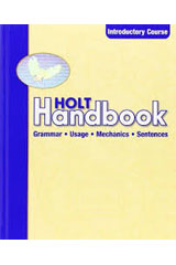 Holt Handbook  Student Edition Introductory Course-9780030661426