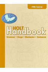 Holt Handbook  Student Edition Fifth Course-9780030661488