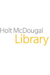Holt McDougal Library, Middle School with Connections  Student Text Holes-9780030664120