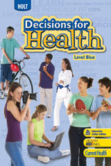 Decisions for Health  Guided Reading Audio CD Program, English Level Blue Level Blue-9780030668760