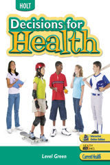 Holt Decisions for Health  Student Edition Level Green-9780030674549