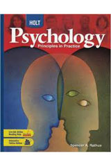 Holt Psychology: Principles in Practice Chapter Review Activities with Answer Key