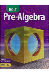 Holt Pre-Algebra  Student Edition-9780030696091