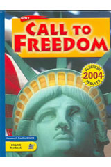 Holt Call to Freedom: Beginnings to 1877  Student Edition-9780030726996
