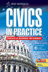 Civics in Practice: Principles of Government & Economics  Premier Online Edition (1-year subscription)-9780030779770