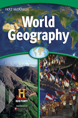 World Geography  Progress Assessment Support System with Answer Key-9780030780219