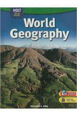 World Geography  Student Edition on Audio CD Program Grade 6-9780030780738
