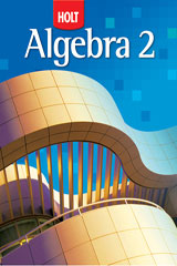Holt Algebra 2  Lesson Transparencies, Volume 3 Chapters 8–10-9780030784330
