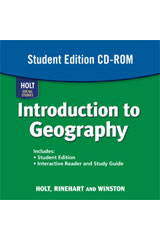 World Regions Student Edition CD-ROM Intro to Geography