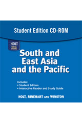 World Regions Student Edition CD-ROM South and East Asia and the Pacific