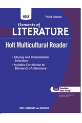 Holt Multicultural Readers  Teacher's Guide Third Course-9780030786013