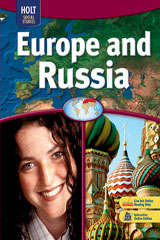 Holt Social Studies: Europe and Russia  Resource Files with Answer Key-9780030786068