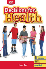 Decisions for Health  Student Edition, Spanish Level Red-9780030788147