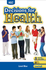 Decisions for Health  Student Edition, Spanish Level Blue-9780030788161