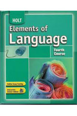 Elements of Language  Annotated Teacher's Edition Fourth Course-9780030796913