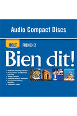 Bien dit!  Audio CD Program Level 2-9780030882449