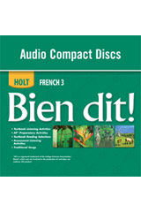 Bien dit!  Audio CD Program Level 3-9780030920363