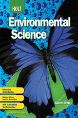 Holt Environmental Science  Interactive Online Edition (1-year subscription)-9780030931154