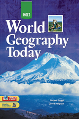 World Geography Today  Student Edition Grades 9-12-9780030934193