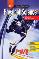 Holt Science Spectrum: Physical Science with Earth and Space Science  Study Guide-9780030936265
