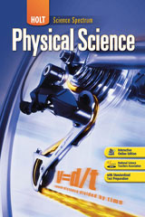 Holt Science Spectrum: Physical Science 1 Year Interactive Online Student Edition-9780030936401