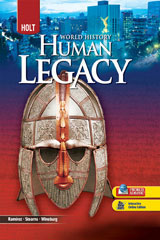 World History: Human Legacy Full Survey  Spanish/English Interactive Reader and Study Guide-9780030937842