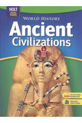 World History: Ancient Civilizations  Student Edition, Spanish-9780030938740