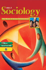 Holt Sociology:  The Study of Human Relationships  Video Program DVD-9780030939587