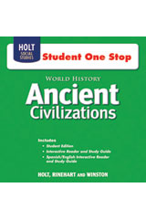 World History Student One-Stop CD-ROM