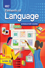 Elements of Language  Student Edition Grade 6-9780030941924