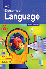 Elements of Language  Student Edition Grade 9-9780030941955