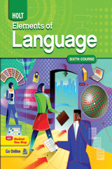 Elements of Language  Student Edition Grade 12-9780030941986