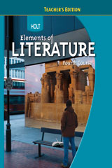 Holt Elements of Literature  Teacher's Edition Grade 10 Fourth Course-9780030944239