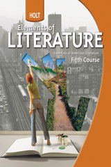 Holt Elements of Literature  Teacher's Edition Fifth Course, American Literature-9780030944246