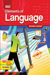 Elements of Language 6 Year Subscription Online Student Access Course 2-9780030947490