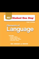 Elements of Language  Student One-Stop DVD-ROM Grade 7-9780030947551