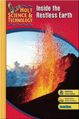 Holt Science & Technology  Interactive Textbook (F) Inside the Restless Earth-9780030958175