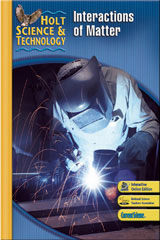 Holt Science & Technology  Interactive Textbook (L) Interactions of Matter-9780030958236