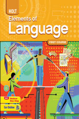 Elements of Language 6 Year Subscription Think Central Teacher's Edition Course 1-9780030958335