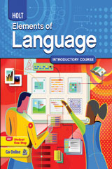 Elements of Language  Chapter Test in Standardized Test Formats-9780030993114