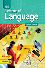 Elements of Language  Chapter Test in Standardized Test Formats-9780030993152
