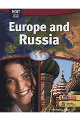Geography Middle School, Europe and Russia  Student Edition-9780030995385