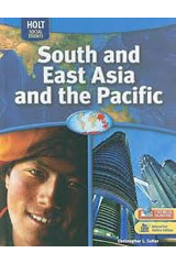Geography Middle School, South and East Asia and the Pacific  Student Edition-9780030995408