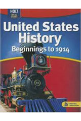 United States History: Beginnings to 1914  Student Edition-9780030995491