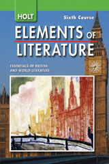 Holt Elements of Literature  The Holt Reader Sixth Course, British Literature-9780030996313